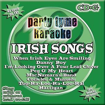 Party Tyme Karaoke - Irish Songs [CD] USA import