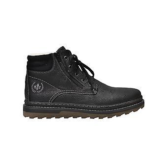 Rieker menka virage zwarte laarzen mens zwart 001