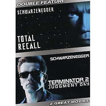 Muistaa/Terminator-tuomio päivä [DVD] USA tuonnin kokonaismäärä