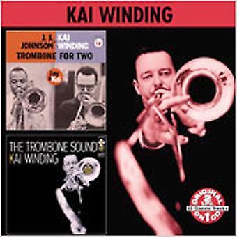 Kai Winding - Trombone for 2/Trombone Sound [CD] USA import