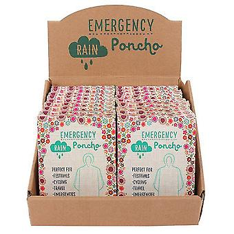 Something Different Emergency Ponchos With Display (Set Of 24)