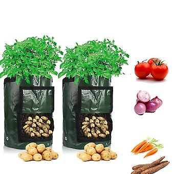 Potato Cultivation, Garden Vegetable Planting Woven Fabric Bags