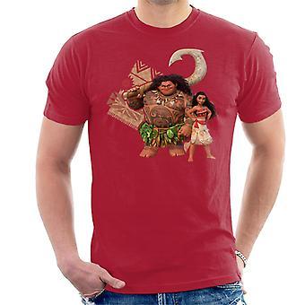 T-shirt Disney Moana and Maui Men-apos;s