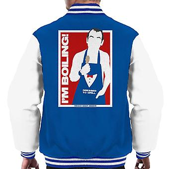 Friday Night Dinner Martin Im Boiling Men's Varsity Jacket