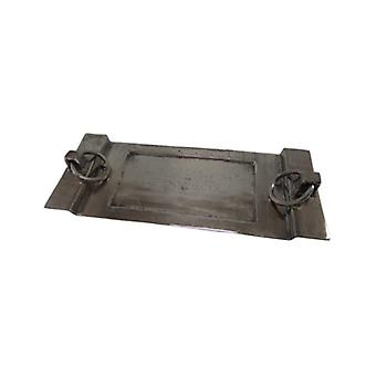 Deco4yourhome Tray with Ring Old Metal