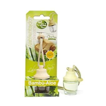 Bamboo and Aloe Vera Style Car Air Freshener 1 unit of 7ml