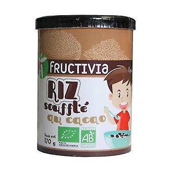 Chokolade puffed ris korn 170 g
