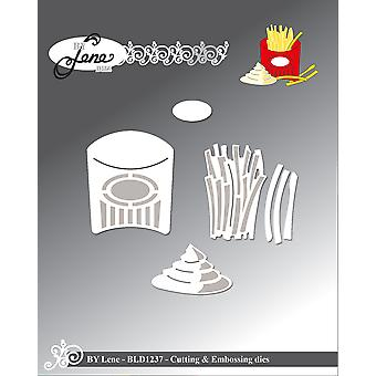 By Lene French Fries Cutting & Embossing Dies