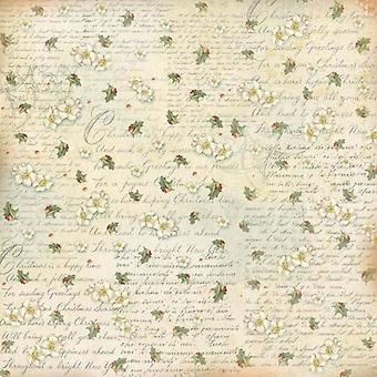 Rice Paper Napkin Writing and Butcher's Broom (DFT288)