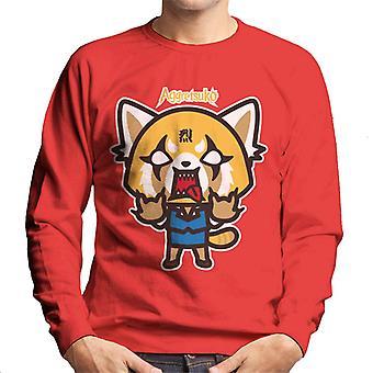 Aggretsuko Rage Men's Sweatshirt