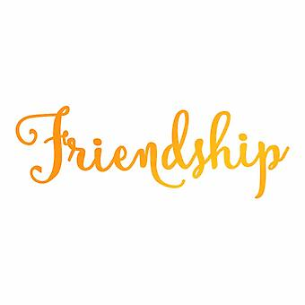 Ultimate Crafts Hotfoil Stamp Friendship (3 x 1in) (ULT158115)