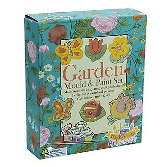 Kit d'artisanat sur le thème du jardin - Cadeau en boîte pour les enfants
