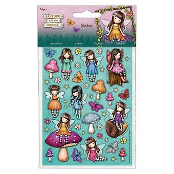 Gorjuss Faerie Vrienden Stickers