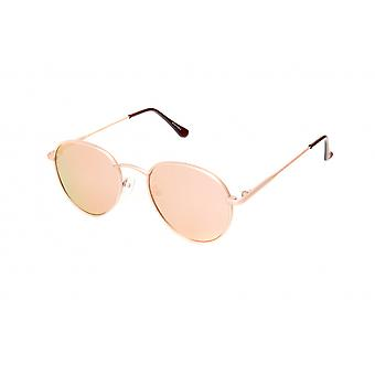 Solglasögon Unisex guld/rosa (20-121)
