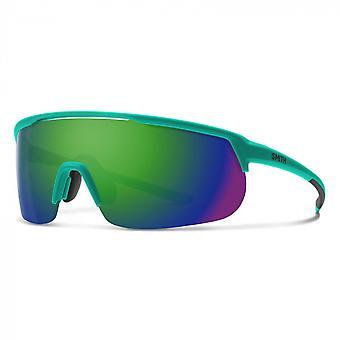 Zonnebrillen Unisex Track Mode Blauw/Groen