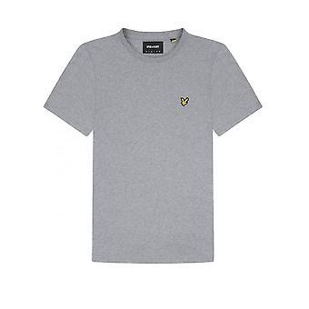 Lyle & Scott Basic Logo Tshirt Mid Grey Marl