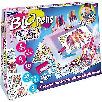 Blo Pens Stencil Magic