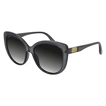 Gucci GG0789S 001 Grey/Grey Sunglasses