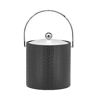 San Remo Eclipse 3 Qt Ice Bucket W/ Bale Handle & Lucite Cover