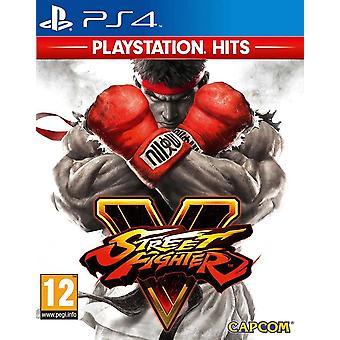 Street Fighter V PS4 -peli (PlayStation Hits)