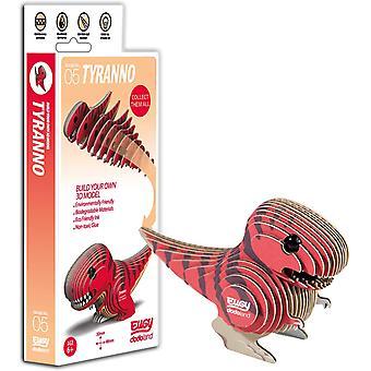Eugy 3D Tyranno T-Rex Dinosaur Model Craft Kit