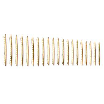 20PCS Cupronickel Copper Gold 2.0mm ballade Bass Guitar Fret Wire