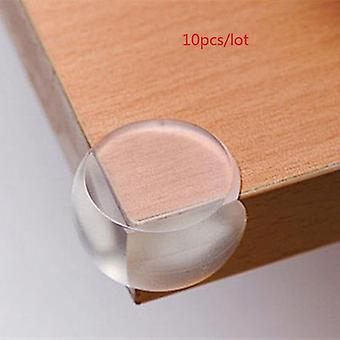 1/5/10pcs Child Baby Safety Silicone Protector- Table Corner Edge Protection Cover Children Anti Collision