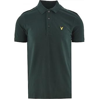 Lyle & Scott Jade Green Polo Shirt