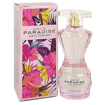 Sofia vergara kadonnut paratiisissa eau de parfum spray by sofia vergara 551956 100 ml