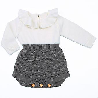 Autumn Winter Newborn Baby Clothes Infant Toddler Sweaters Rompers Wool