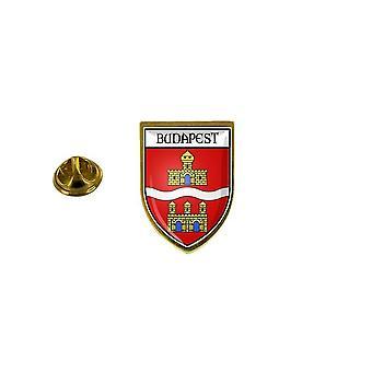 pine pine pine badge pine pin-apos;s souvenir city flag country coat of arms ecusson budapest hungary