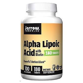 Jarrow Formler Alpha liponsyra, 102 mg, 180 Flikar
