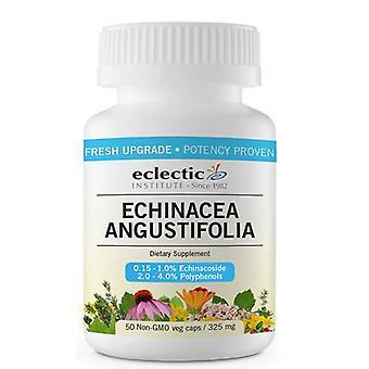Eclectic Institute Inc Echinacea Angustifolia Root, 325 Mg, 50 Korkkia