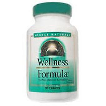 Kilde Naturals Wellness Formula Tabletter Bio-justeret, 45 Faner