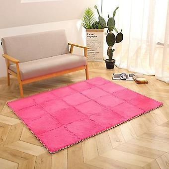 Baby Ontwikkeling Mat Soft Eva Foam Pluche Puzzel Interlock Vloer mat oefening