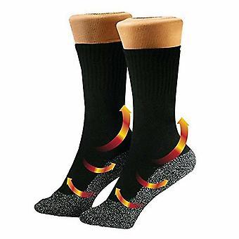 Aluminized Fiber Temperature Socks - Winter Mountaineering Ski Socks 35 Degrees