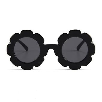 Child Sun Glasses Round Flower Gafas Sport Sunglasses For Baby