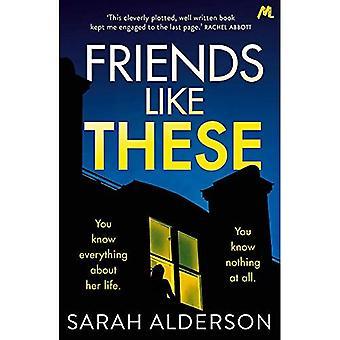 Venner som disse: En gribende psykologisk thriller med en chokerende twist