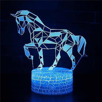 3D Touch Light Night 7 kleuren met afstandsbediening - Cheval #469