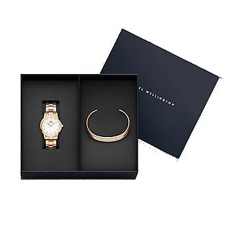Daniel Wellington DW00500979 Iconic Link Watch And Bracelet Giftset