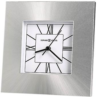 Howard Miller Kendal Tabletop Clock - Silver