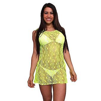 Women's Spider Tank Swimwear Cover-up Beach Dress