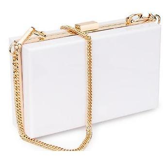 Women Acrylic Clear Purse, Cute Transparent Crossbody Bag, See Through