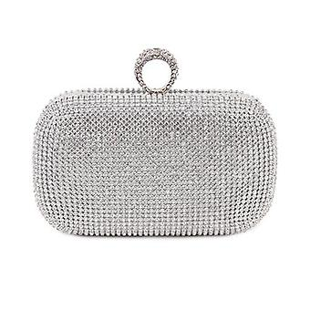 Evening Clutch Bags, Diamond-studded With Chain, Shoulder Women's Handbags,