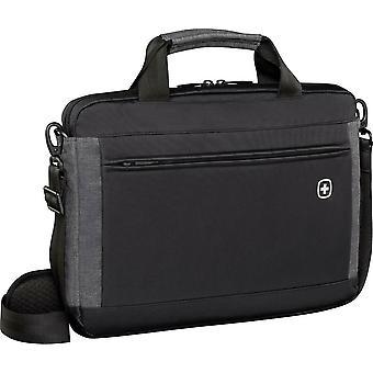 """Wenger 601081 INCLINE 16"""" (41 cm) Laptop Slimcase, 8lt Messenger Bag Black/Grey"""