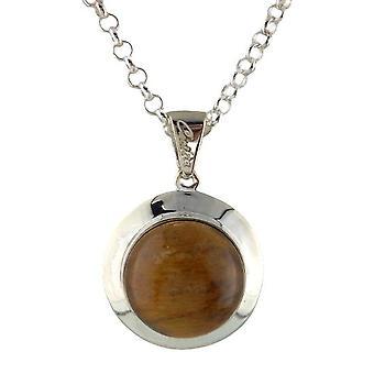 VJ Since 1890 SilverHalsband Cecilia Collection CCWOMP16TIger