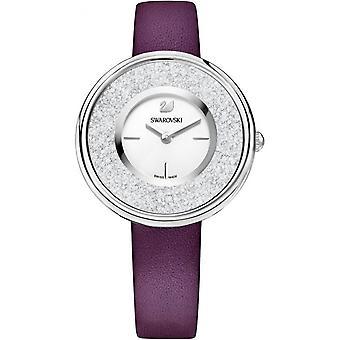 Watch Swarovski 5295355 - Swarovski Leather Bordeaux Women's Crystal Watch