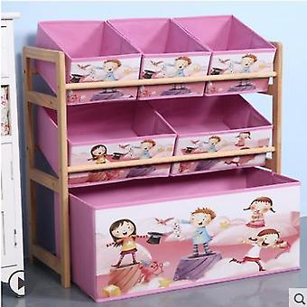 Children Cabinets Solid Wood Storage