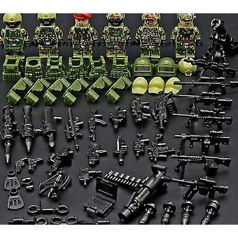الجنود السوفييت، جيش القوات الروسية - لبنات البناء العسكرية