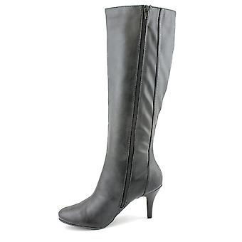 Naturalizer Womens Leslie Almond Toe Knee High Fashion Boots